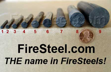 firesteel sizes